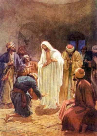 Jesús se aparece en el Cenáculo