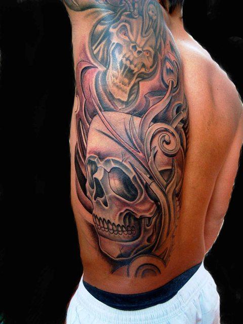 tatuaje calabera. Tatuajes